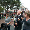 Cari, Danny, Hallie & baby Chasers on main street....