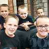 All of the boys at Disneyland...Pearson and Jaydie, Yenner, Zachie and Nolie...
