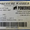Powerhorse Pressure Washer