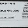 Char-Broil model serial number info