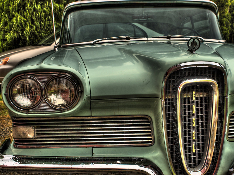 HDR Edsel Windows Wallpaper