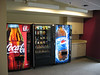 Coke and snack machines in the library! When will Hopkins wise up and allow food?