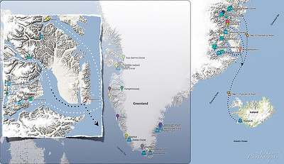 115 NM overnight to Ittoqqortoormiit, our only settlement visit and our last morning in Greenland. 20 Sep 2013