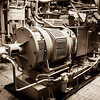 Expedition Day 11 - Engine Room Tour - Steering Gear; Heading South in the Barents Sea.<br /> 11 Jul 2014