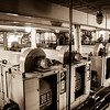 Expedition Day 11 - Engine Room Tour - Electric Generators; Heading South in the Barents Sea.<br /> 11 Jul 2014