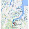 Embarkation Day Map<br /> 1 Jul 2014