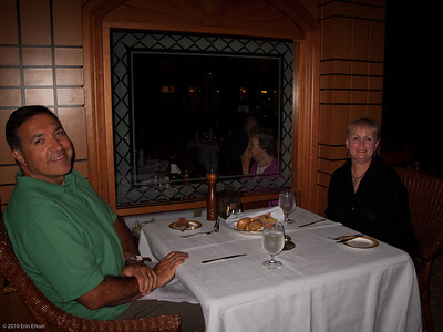 Grand Princess Cruise Sterling Steakhouse - Day at Sea En Route to  Ft Lauderdale 19 December 2010