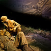 "28 February 2010<br /> Smithsonian National Museum of American History - Washington DC<br /> From the ""America at War"" exhibit.<br /> <br /> MedEvac scene from the Vietnam War portion of the exhibit."