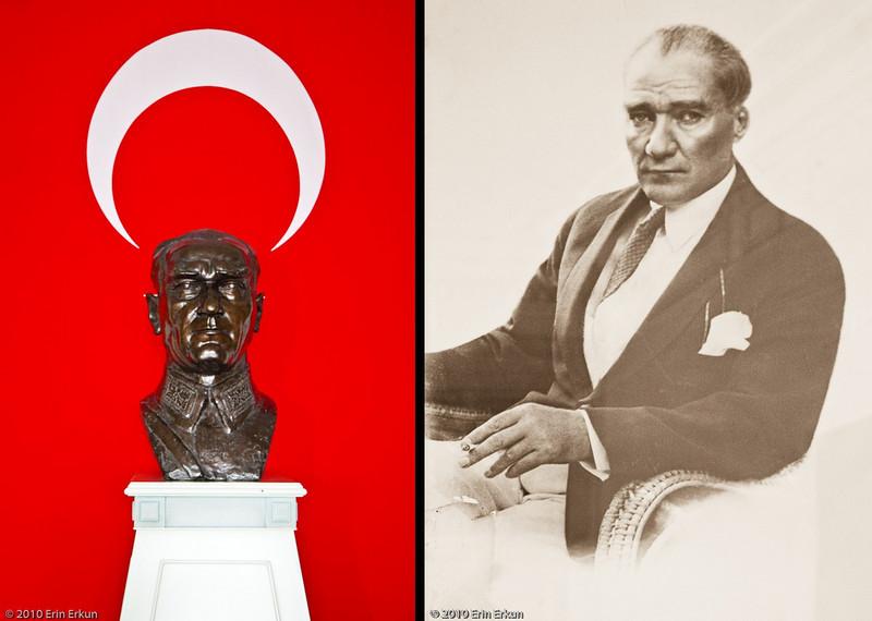 20 April 2010<br /> Ataturk Evi<br /> Mustafa Kemal Ataturk (1881-1938) - the father of modern Turkey.