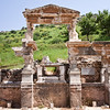 18 April 2010<br /> Ephesus - Fountain of Trajan