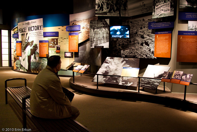 "28 February 2010<br /> Smithsonian National Museum of American History - Washington DC<br /> From the ""America at War"" exhibit."