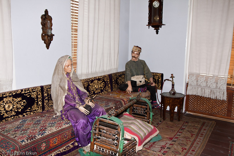 20 April 2010<br /> İzmir Ethnography Museum<br /> 19th Century Ottoman Sitting Room.