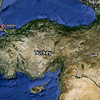 22 April 2010<br /> Google Earth image showing İstanbul in relation to İzmir.