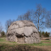 27 March 2010<br /> Historic St Mary's City Living Exhibit - Woodland Indian Hamlet<br /> A re-creation of a small Yaocomaco Indian hamlet typical of those found in southern Maryland in 1634 at the time of contact with English colonists. The hamlet represents a unique situation - native peoples and English colonists living together, peacefully, until the colonists could establish their own settlement.