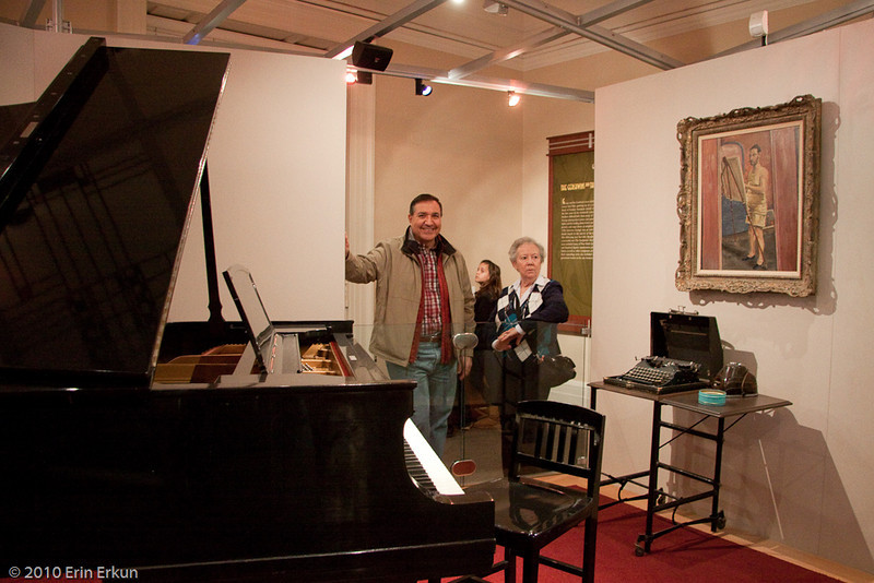 13 March 2010<br /> Library of Congress - Jefferson Building, Washington DC<br /> Gershwin's Piano