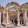 18 April 2010<br /> Ephesus - Temple of Hadrian