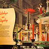 "28 February 2010<br /> Smithsonian National Museum of American History - Washington DC<br /> From the ""Holidays on Display"" exhibit.<br /> <br /> giant Christmas candle carousels, Marshall Field & Company, main aisle, Chicago, about 1956"