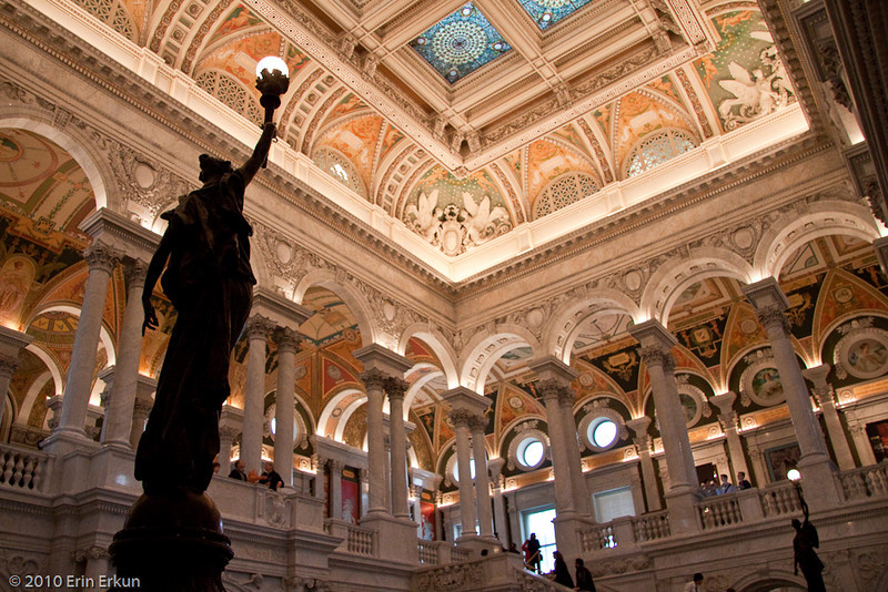 13 March 2010<br /> Library of Congress - Jefferson Building, Washington DC