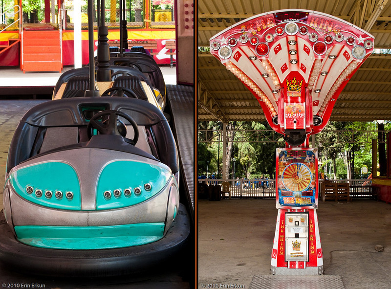 21 April 2010<br /> Kultur Park  - Luna Park<br /> The bumper cars concession is not yet open, nor has anyone found the test your strength arcade.