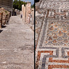 18 April 2010<br /> Ephesus - Mosaic sidewalk leading to the terrace houses.
