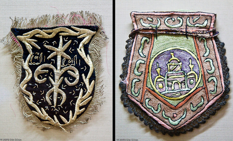 20 April 2010<br /> İzmir Ethnography Museum<br /> Embroidered coin purses.