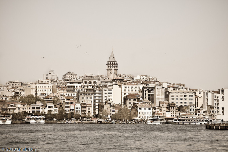 22 April 2010<br /> İstanbul - Galata skyline from Eminönü.