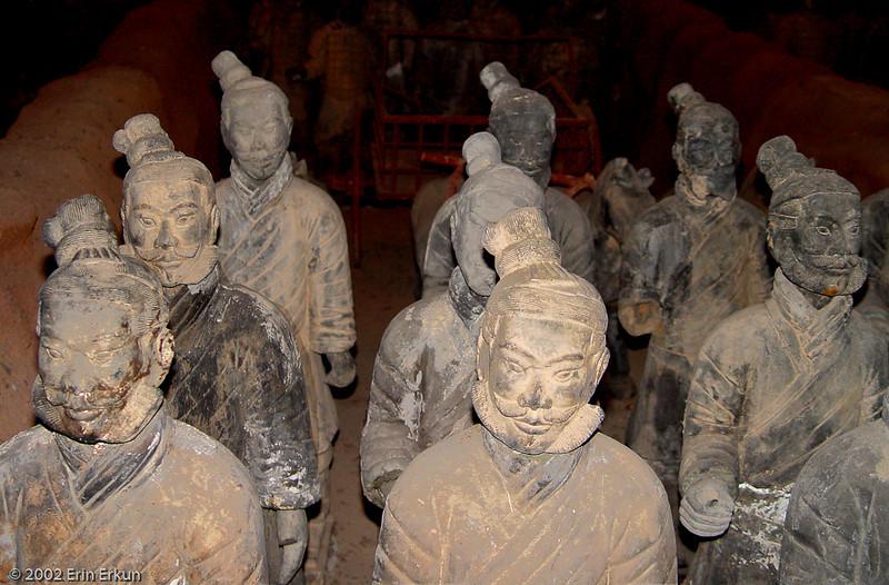 12 December 2002<br /> Terracotta Warriors Exhibit - Splendid China, Orlando, Florida
