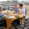 19 April 2010 - Around Alsancak<br /> Dinner on mom's terrace.