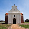 27 March 2010<br /> Historic St Mary's City Living Exhibit - Brick Chapel of 1667<br /> The original brick chapel served as the focal point of the Catholic faith in Maryland until 1704, when the royal governor ordered the building locked and never again used for religious purposes.  The Jesuits dismantled the building and used the bricks to construct a new manor house at the St Inigoes Mission.