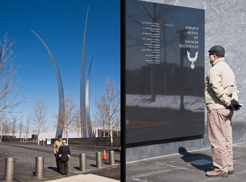 28 February 2010<br /> US Air Force Memorial - Arlington, Virginia