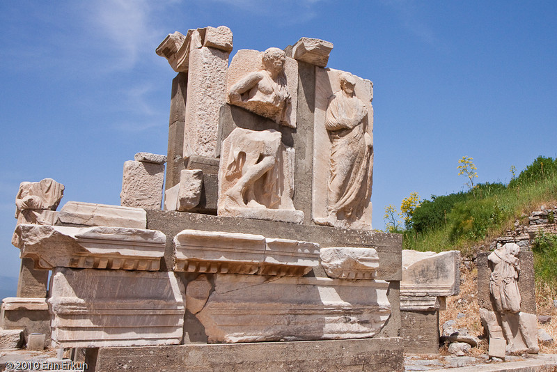 18 April 2010<br /> Ephesus - Monument of Memmius