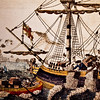 "28 February 2010<br /> Smithsonian National Museum of American History - Washington DC<br /> From the ""America at War"" exhibit.<br /> <br /> ""The Boston Tea Party"" (1773)"