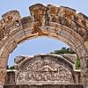 18 April 2010<br /> Ephesus - Temple of Hadrian