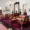 20 April 2010<br /> Atatürk Evi<br /> According to the museum attendant, all of the furnishing's are original to the time when Atatürk lived in the house (the upholstery and curtains have been replaced).