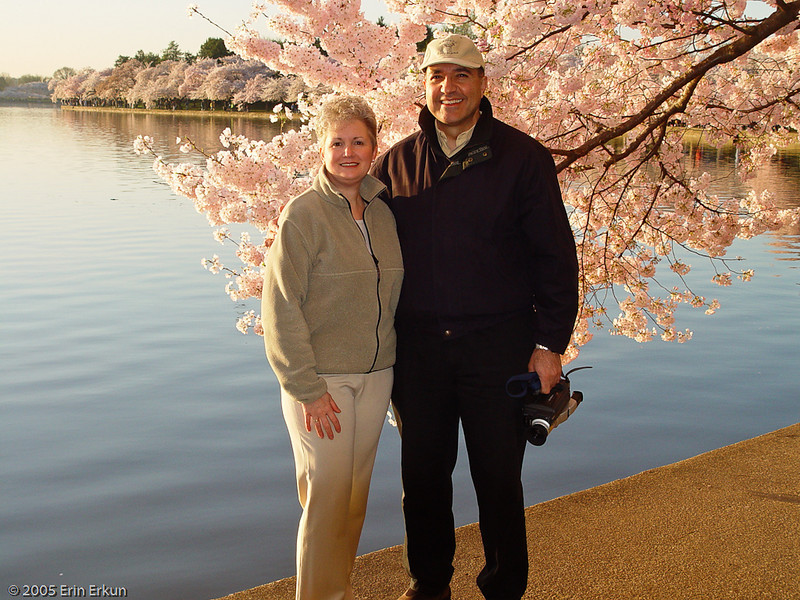 10 April 2005<br /> Cherry Blossoms at Tidal Basin