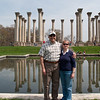 3 April 2010<br /> US National Arboretum<br /> Photo op at the columns.