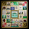 27 March 2010<br /> Historic St Mary's City Museum<br /> Quilt depicting scenes from Maryland's history.