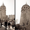 "22 April 2010<br /> İstanbul - Galata Kulesi (Galata Tower)<br /> On 29 May 1453 the Genoese handed over the keys to the tower that they knew as ""Christea Turris"" (the Tower of Christ in Latin) to Fatih Sultan Mehmet, who conquered Constantinople, thus bringing an end to the Byzantine Empire."