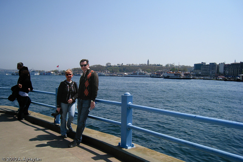 22 April 2010<br /> İstanbul - Sarayburnu from Galata Bridge