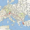 This Google Earth images shows our itinerary from the US to Munich, Germany, to Izmir, Turkey.
