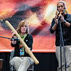 5 March 2010<br /> Adventures in Travel Expo - Washington, DC<br /> Jacquie, Vidal's associate, convinces him to play the flute on the cultural stage.
