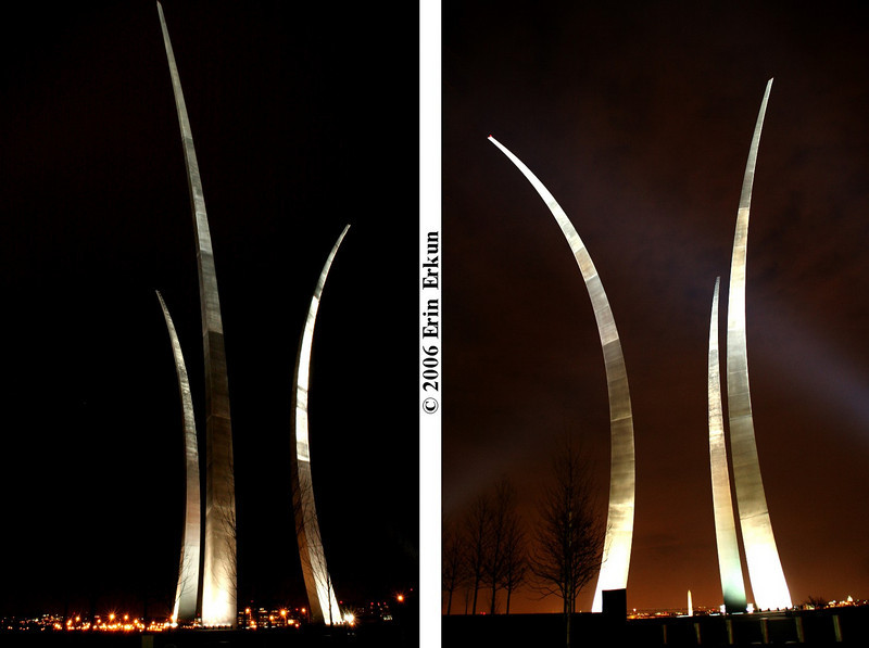 2 December 2006<br /> Air Force Memorial - Arlington, Virginia