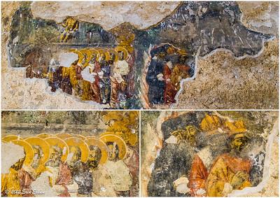 Ṣirince - frescoes at the Church of Saint John the Baptist. 20 Oct 2012