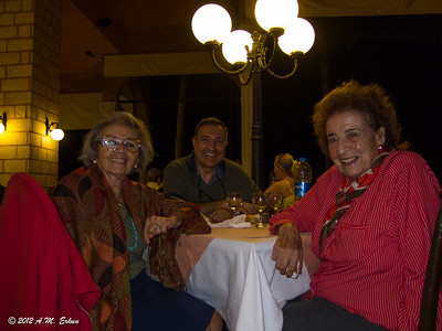 Topkapı Palace Hotel - with Jale Teyze (right) and Ṣuliṣ. Antalya - Oct 2012