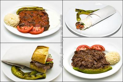 Lunch at Donerci Orhan in Alsancak. Izmir, Turkey - 19 Oct 2012