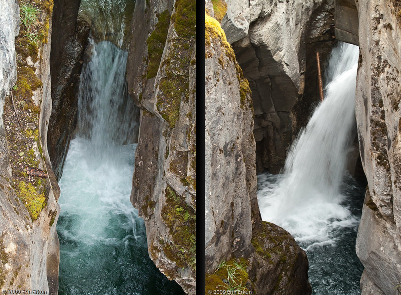 A closer look at the cataracts of the waterfall at 3rd Bridge.