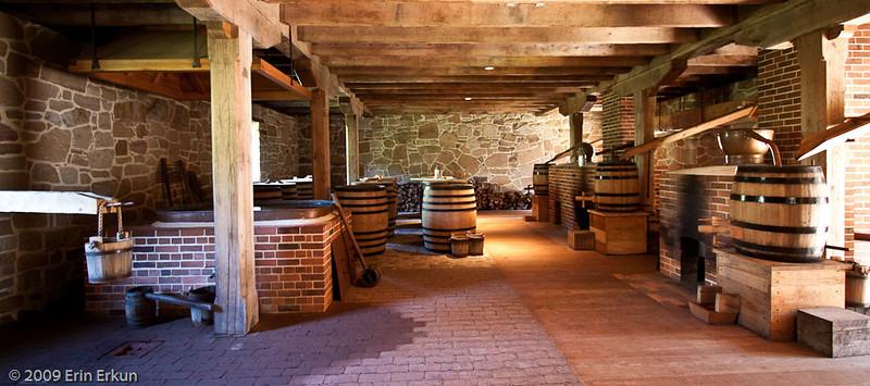 Inside the Distillery