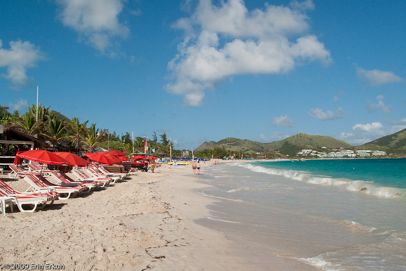 Mercury Cruise - R/T from Baltimore - November 30-December 12<br /> A small portion of Orient Bay Beach - Saint Martin