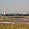 On time landing at Ronald Reagan Washington National Airport.