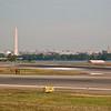 On time landing at Ronald Reagan Washington National Airport.